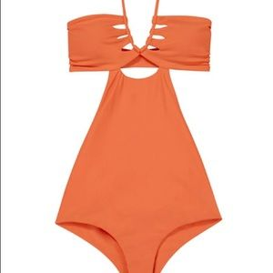 MIKOH cloudbreaker cutout swimsuit